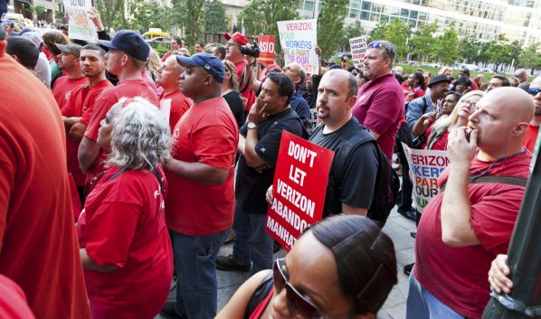Verizon Strike: The Dam Breaks