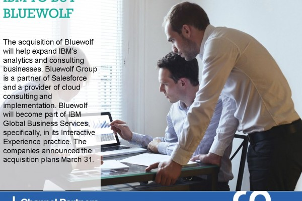 Biggest M&A of March-April: IBM-Bluewolf