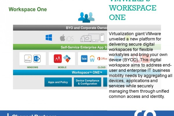 New Products and Services: VMware