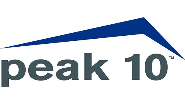 Peak 10 logo