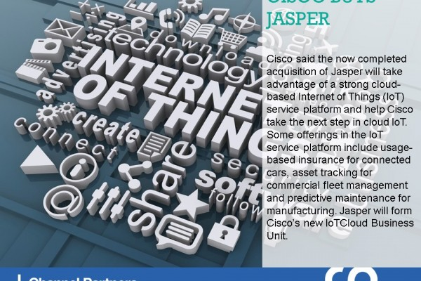 Biggest M&A of March-April: Cisco-Jasper