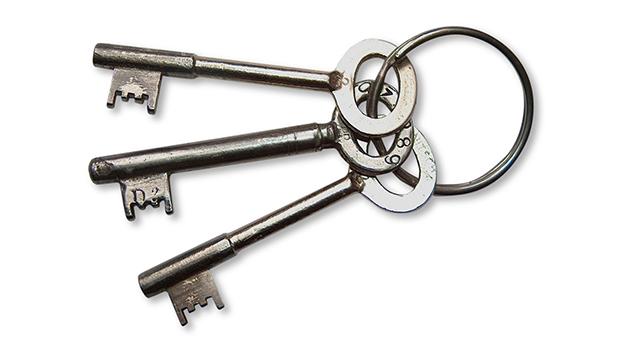 3 keys