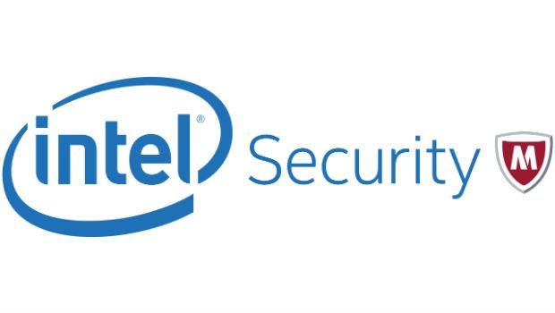 Intel Securiity McAfee logo
