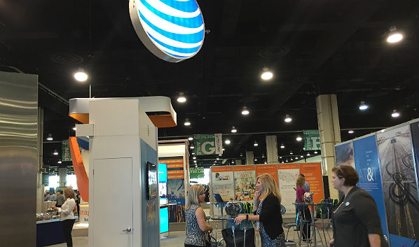 Channel Partners Evolution Expo Hall: AT&T