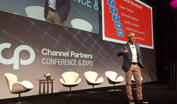 On Stage at Channel Partners: Soon Yu