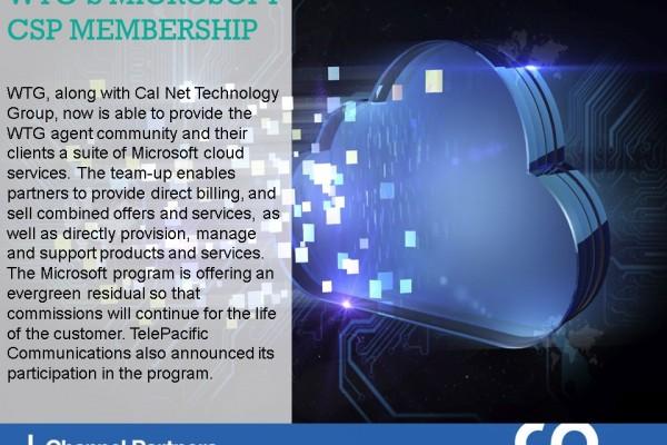 Channel Program Changes: WTG-Microsoft