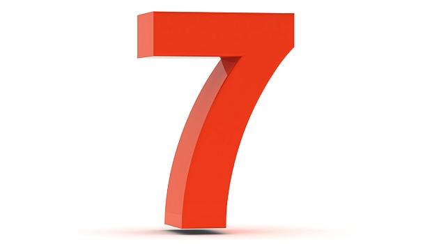 7, seven