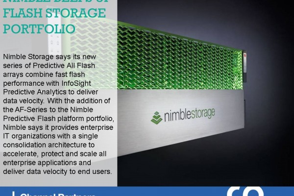 New Products and Services: Nimble Storage