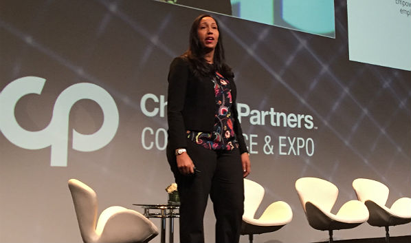 On Stage at Channel Partners: Microsoft's Rokeya Jones