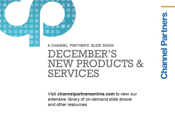 December's New Products and Services: Visit the Channel Partners Home Page