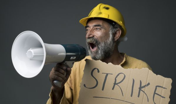 Verizon Strike: 'The Greedy Bunch'