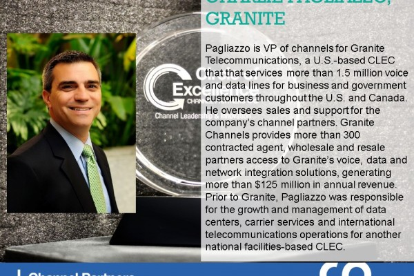 2016 Circle of Excellence: Granite Communications' Charlie Pagliazzo