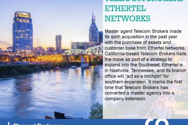 Big M&A: Telecom Brokers-Ethertel Networks