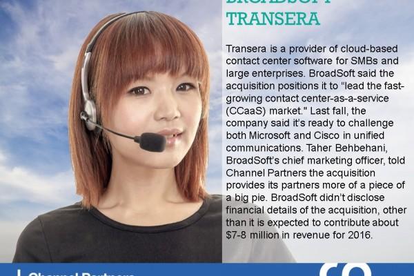 Big M&A: BroadSoft-Transera