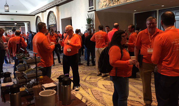 ShoreTelOne Global Partner Conference: Orange Out Day