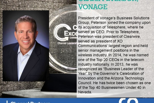 2016 Circle of Excellence: Vonage's Clark Peterson