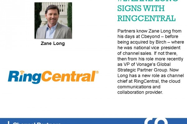 Top Stories in February: Zane Long Signs With RingCentral