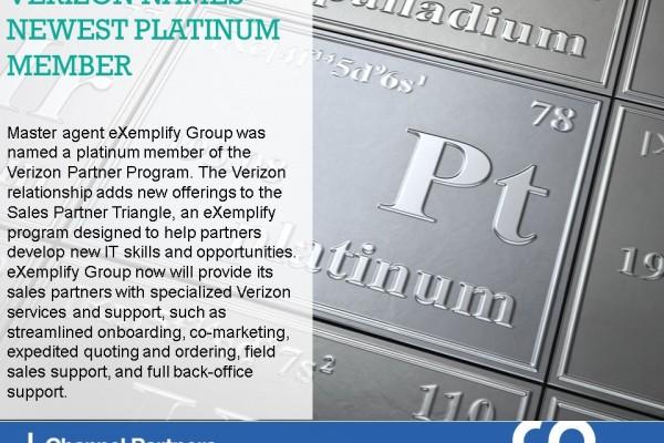 Channel Program Changes: Verizon-eXemplify Group