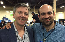 Broadvoice's Jim Murphy and XBP's Moe Navid