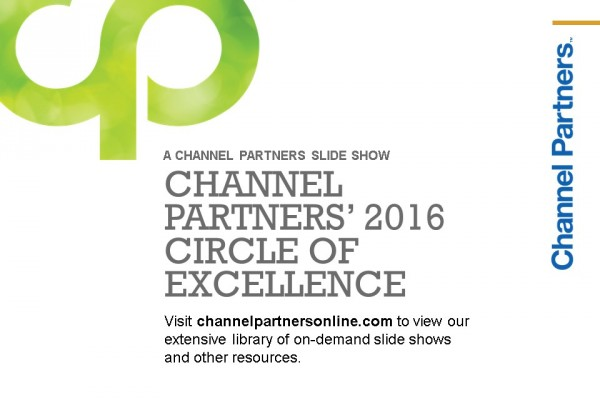 2016 Circle of Excellence: Visit the Channel Partners Home Page