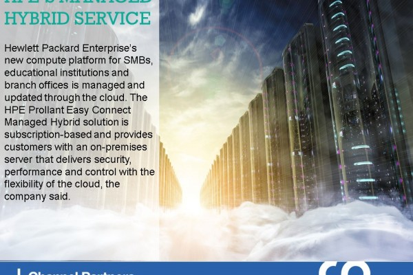 April's New Services: HPE