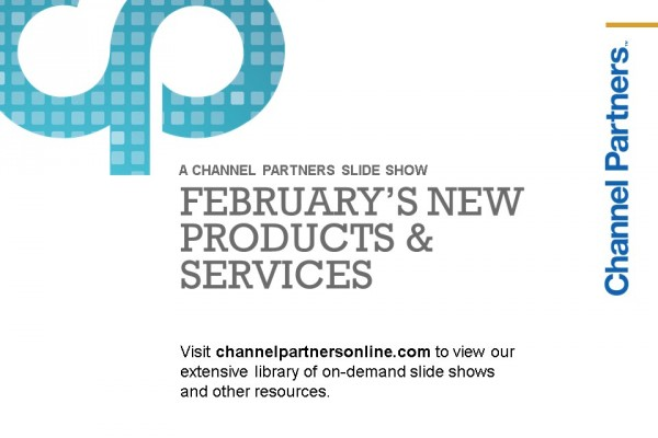 New Products and Services: Visit the Channel Partners Home Page