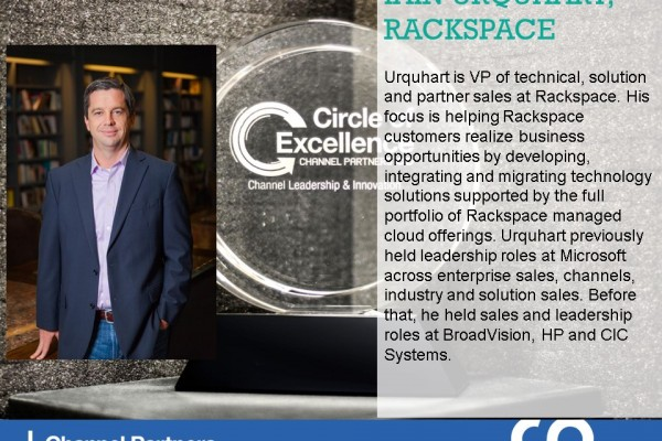 2016 Circle of Excellence: Rackspace's Iain Urquhart