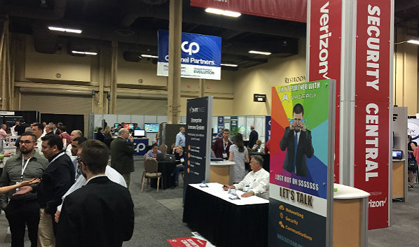 The Channel Partners Expo Hall: Security Central