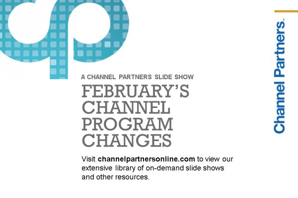Channel Program Changes: Visit the Channel Partners Home Page