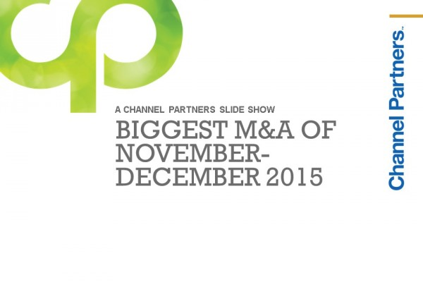 Biggest M&A of Nov.-Dec. 2015: Introduction
