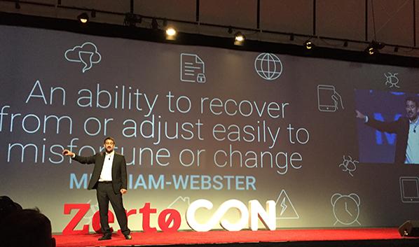 ZertoCON Boston 2017: Zerto CEO Ziv Kedem