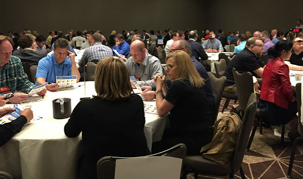 Synnex Varnex Spring Conference: 'Speed Dating'