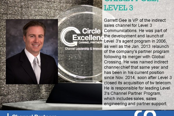2016 Circle of Excellence: Level 3 Communications' Garrett Gee