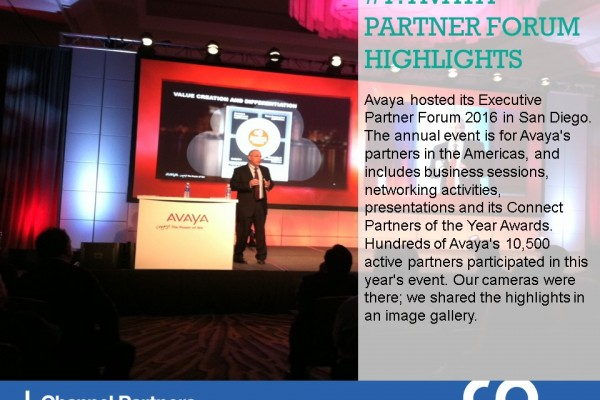 Top Stories in February: Avaya Executive Partner Forum