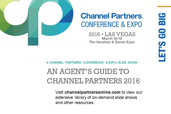 An Agent's Guide to Channel Partners 2016: Visit the Channel Partners Home Page
