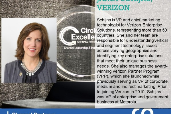 2016 Circle of Excellence: Verizon's Janet Schijns