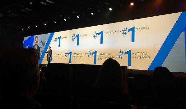 Dell EMC World: 'We're No. 1!'