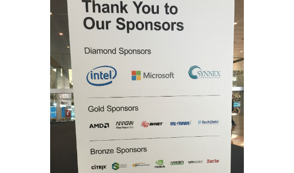 HP/HPE Global Partner Conference: Sponsors