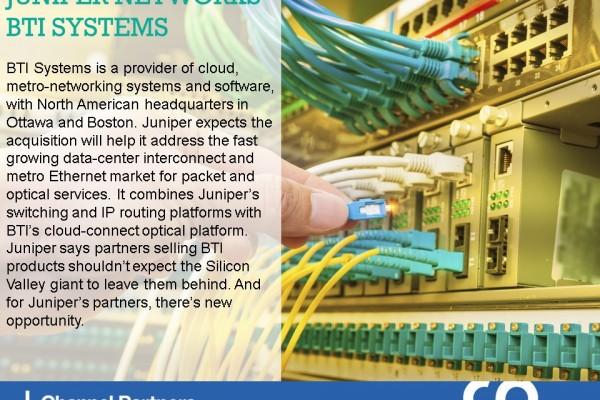 Big M&A: Juniper Networks-BTI Systems