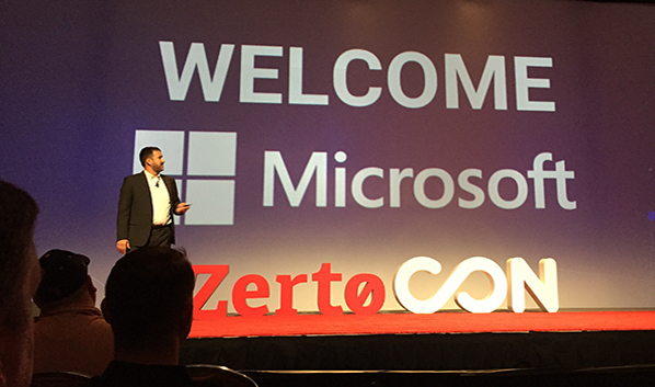 ZertoCON Boston 2017: Microsoft Love