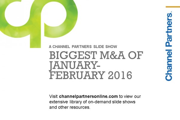 Big M&A: Visit the Channel Partners Home Page