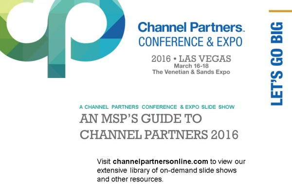 An MSP's Guide to Channel Partners 2016: Visit the Channel Partners Home Page