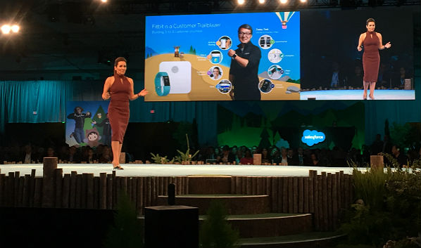 Dreamforce '16: FitBit Kudos