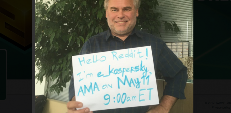 Founder Eugene Kaspersky Offers to Testify Before Senate on Russia Ties