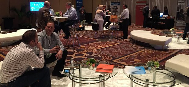 BCM One lounge at CP Expo