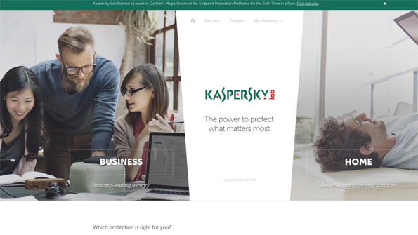 Kaspersky Lab Says it Has No Ties to Any Government