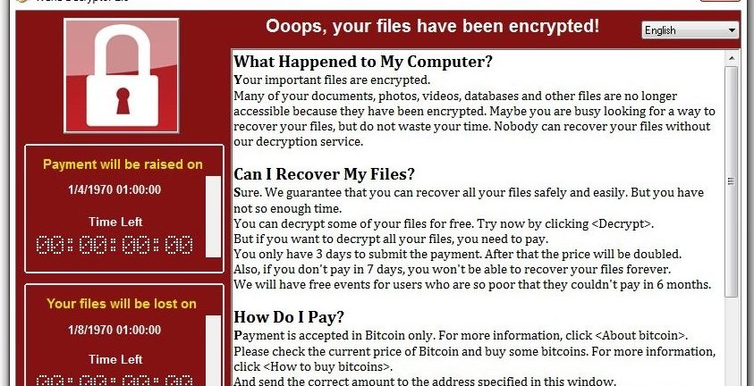 CEO Forum WannaCry Raises the Red Flag