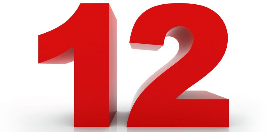 12, twelve