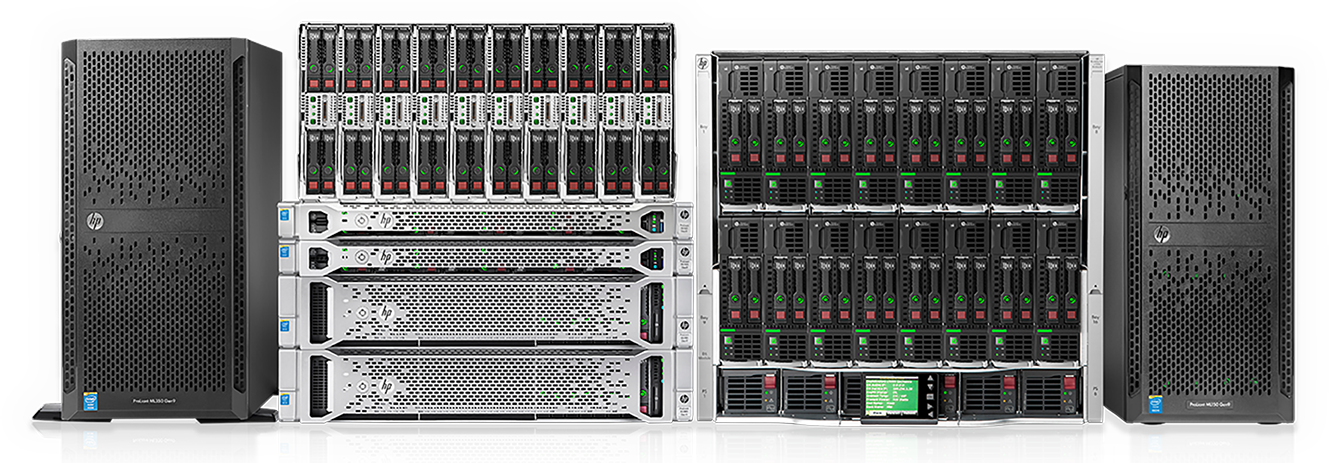 HPE ProLiant servers