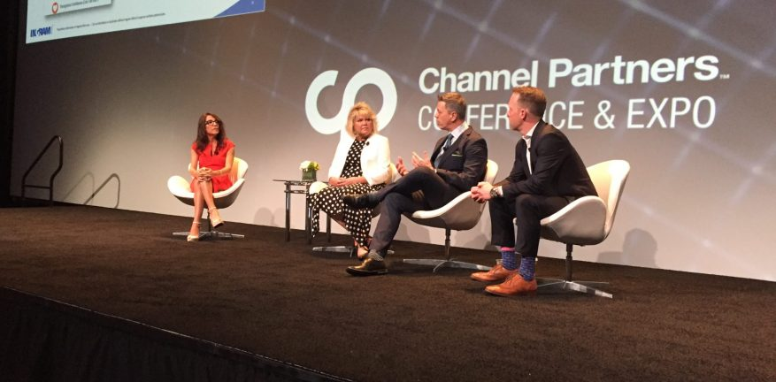 Talent panel at Channel Partners Conference & Expo